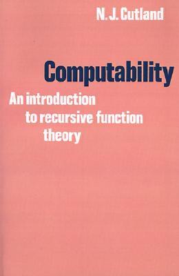 Computability By Cutland, Nigel
